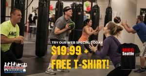 $19.99 + FREE T-Shirt!